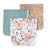 Copper pearl 3 Pack Burp Cloths