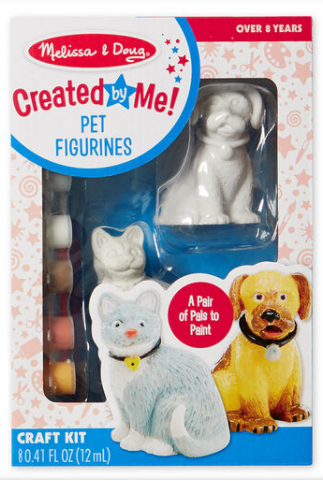 Melissa & Doug Created by Me! Pet Figurines Craft Kit