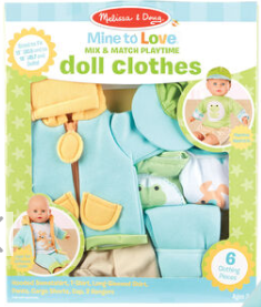 Melissa & Doug Mine To Love Mix and Match Playtime