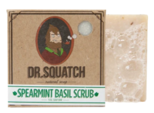 Dr. Squatch Spearmint Basil Soap