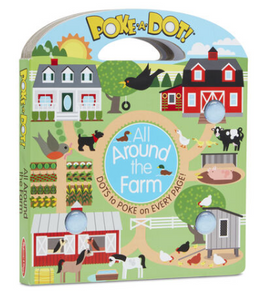 Melissa & Doug Poke-a-Dot: All Around Sunny Farm