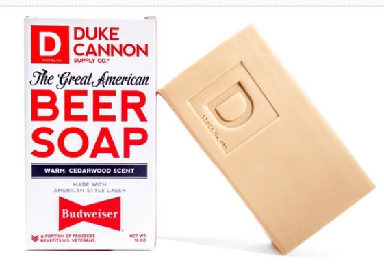 Duke Cannon American Beer Soap