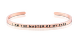 I am the Master of My Fate MantraBand