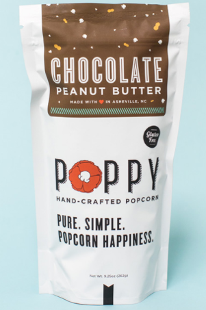 Poppy Hand-Crafted Popcorn- Chocolate Peanut Butter