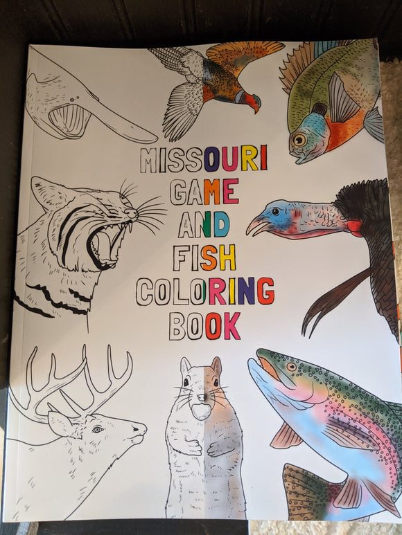 Missouri Game and Fish Coloring Book