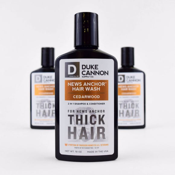 New Anchor 2-in-1 Hair Wash-Cedarwood