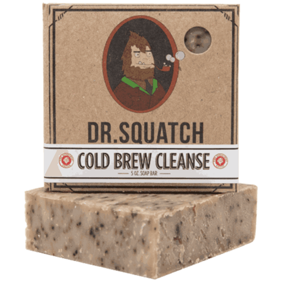 Dr. Squatch Cold Brew Cleanse Soap