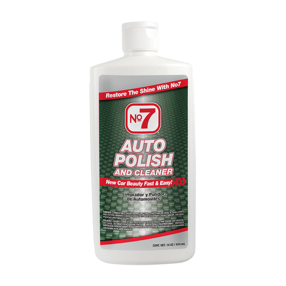 No7 Auto Polish and Cleaner