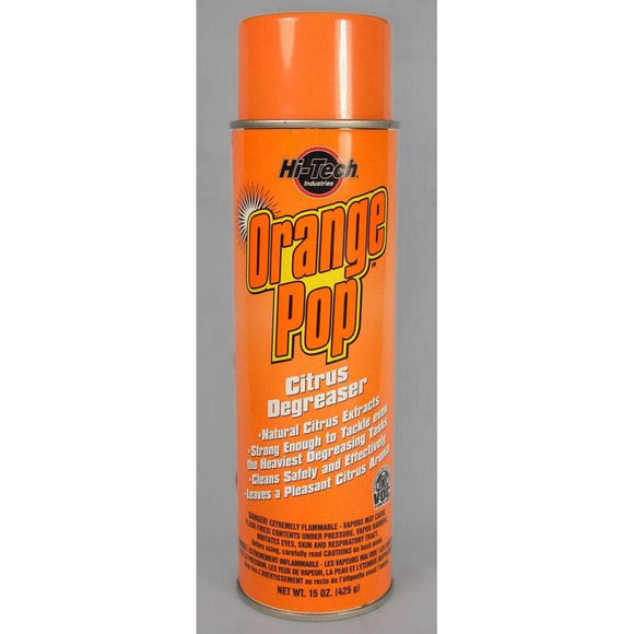 Orange Pop Citrus Degreaser-Cleaners & Specialty Aerosols-Hi Tech Industries-HT 18018