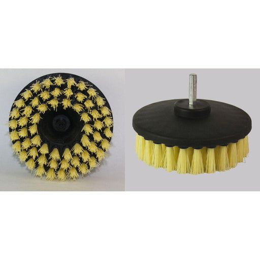 "5"" Diameter Direct Mount Rotary Brush-Scrub Brushes-Hi Tech Industries-SS-50"