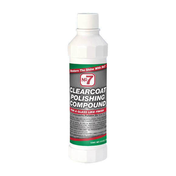 No7 Clearcoat Polishing Compound