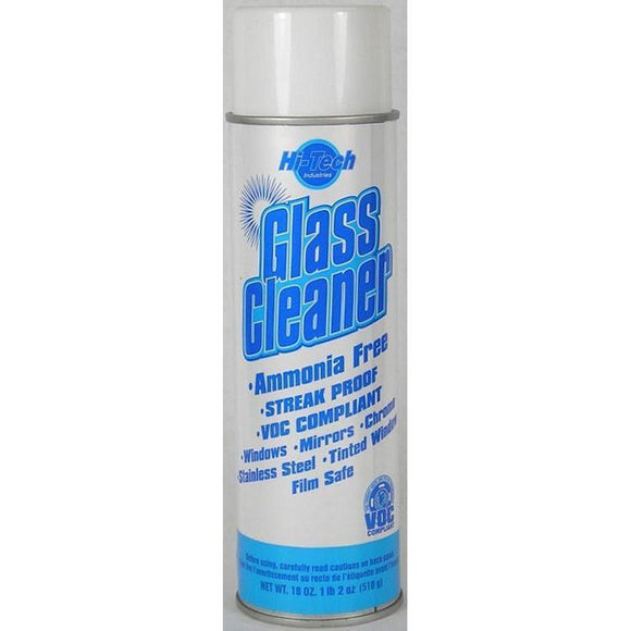 Hi-Tech Streak Proof Glass Cleaner Ammonia Free-Cleaners & Specialty Aerosols-Hi Tech Industries-HT 18012
