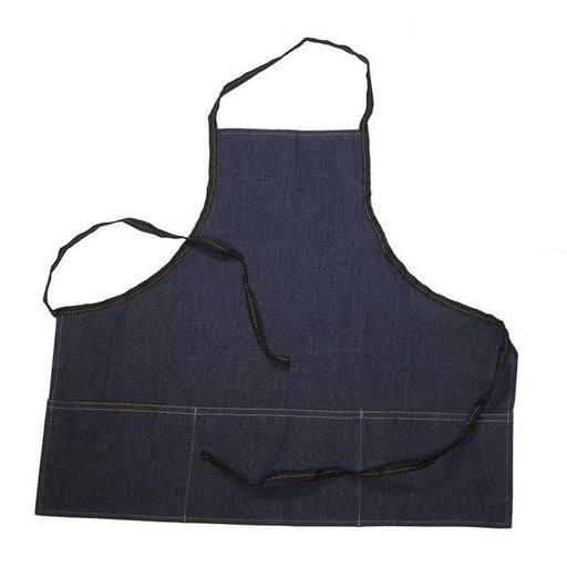 Denim Apron - Deluxe w/ Pockets