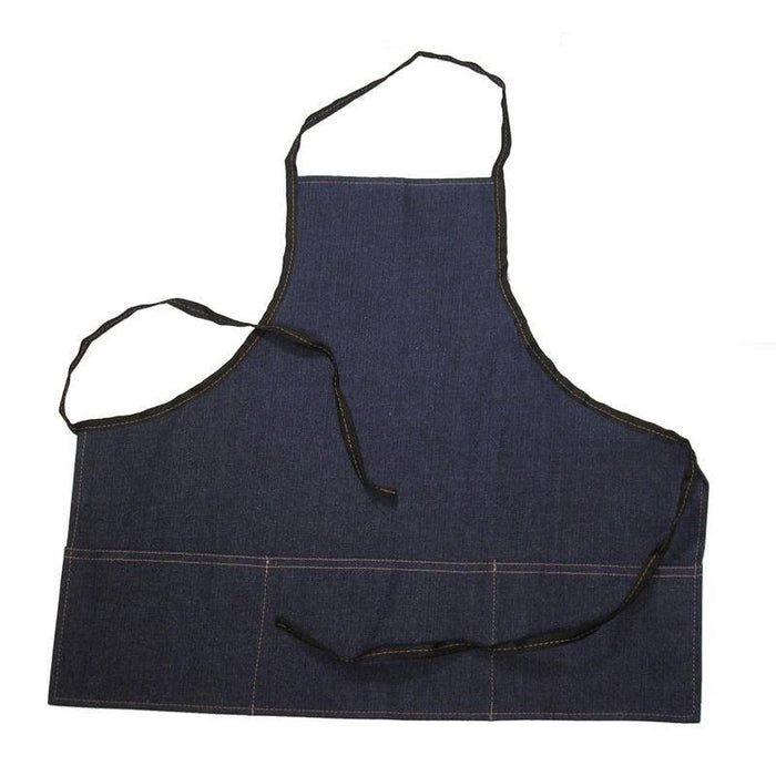 Denim Apron - Deluxe w/ Pockets-Aprons & Safety-Hi Tech Industries-DA-2