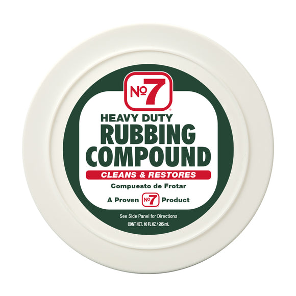 No 7 Rubbing Compound Best Compound for Cars