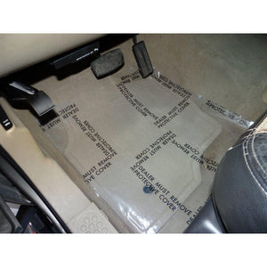Discount Car Care Products Auto Adhesive Floor Mats Fit Irregular Surfaces