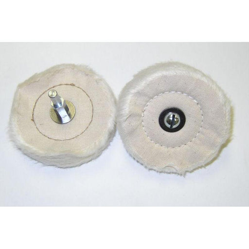 "3"" Diameter Mag Cotton Polishing Wheel-Metal Polishing-Hi Tech Industries-7605"