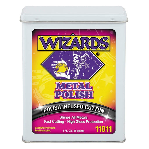 WIZARDS Metal Polish, 3oz Can-Metal Polishing-WIZARDS-11-11