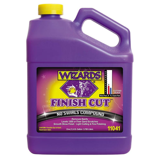 WIZARDS Finish Cut No Swirls Compound, Available in Two Sizes-Paint Correction Products-WIZARDS-