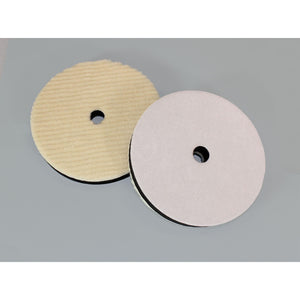 "No-Swirl Velcro Wool Buffing Pad - 7""-Hi-Buff® Wool and Microfiber Pads-Hi Tech Industries-HB 180"