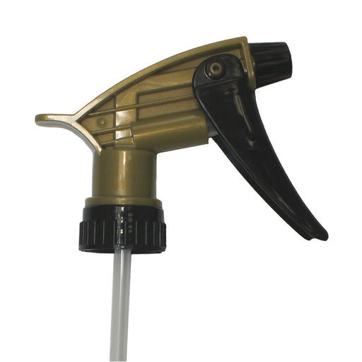 Acid Resistant Trigger - Black/Gold-Bottles & Sprayers-Hi Tech Industries-320ARS