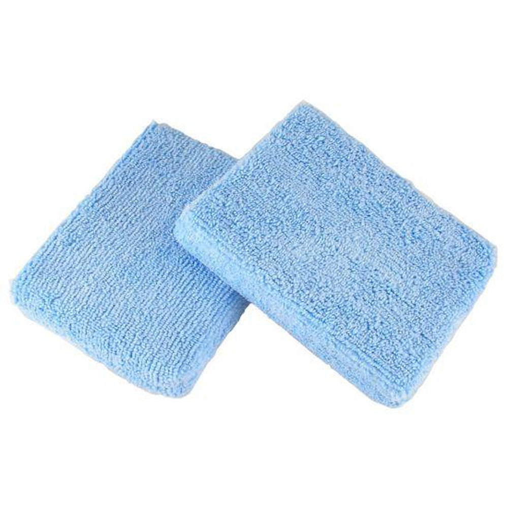 Microfiber Wax Applicator Pad 5 x 3.75 (Case of 324)-Applicator Pads-Hi Tech Industries-35M-324