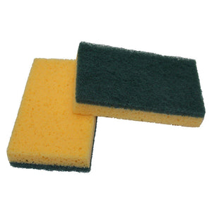 HD Scrub Sponge - Green (12/pack)