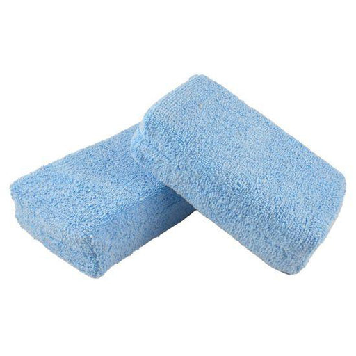 Premium Microfiber Wax Applicator Pads 4x6 (12 Pack)