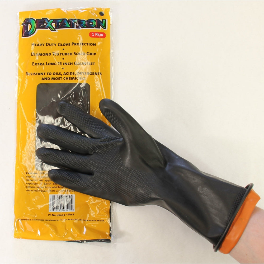 Dextatron Rubber Gloves-Gloves-Hi Tech Industries-48009