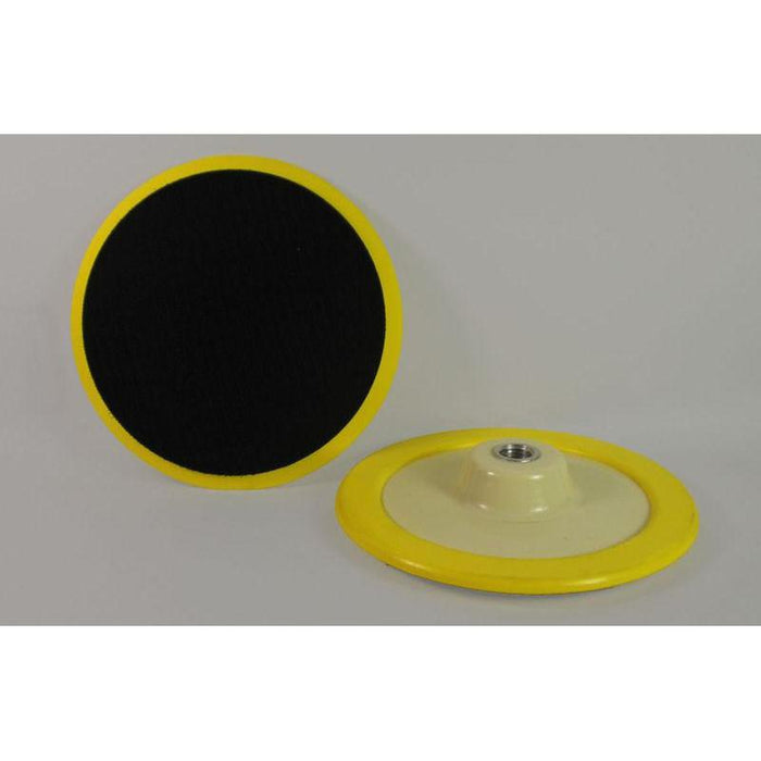 Flex-O Yellow HD Velcro Backing Plate-Backers-Hi Tech Industries-VP-11T