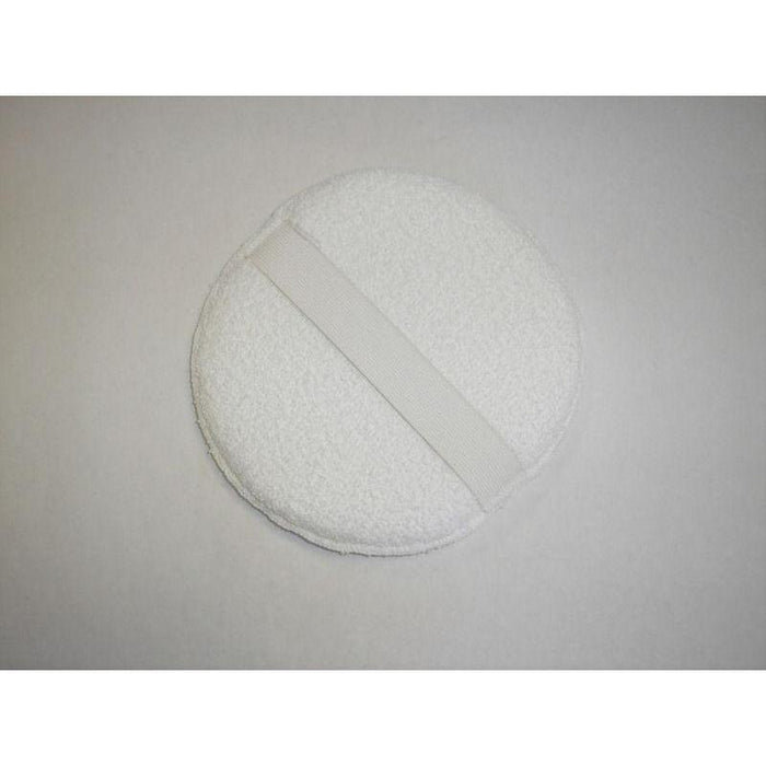"Round Terry Wax Pad w/ Strap - 8""-Applicators-Hi Tech Industries-8T"