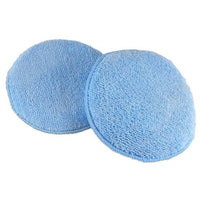 05M Round Microfiber Wax Applicator Pads 2 Pack
