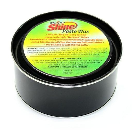 Magna Shine Paste Wax - 16 oz-Metal Polishing-Hi Tech Industries-PW-16
