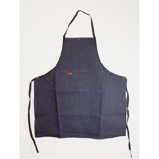 Denim Apron - Deluxe Long w/ Pockets-Aprons & Safety-Hi Tech Industries-DA-3