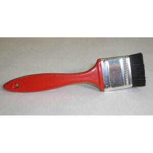 "Paintbrush Detail - Red .6"" Bristle"