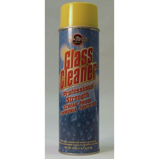 Glass Cleaner Ammonia Fortified-Cleaners & Specialty Aerosols-Hi Tech Industries-HT 18025