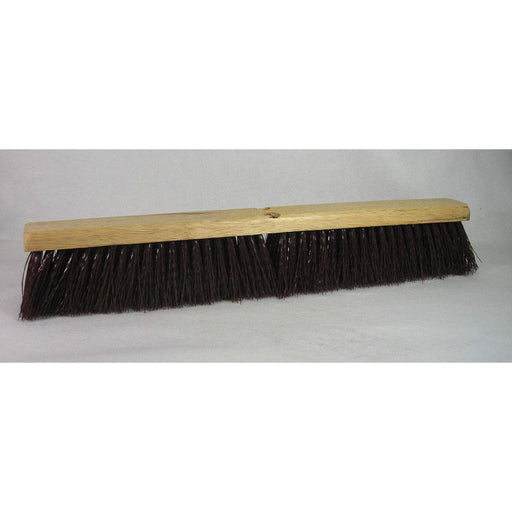"24"" Maroon Stiff Poly-Push Broom Heads & Floor Squeegees-Hi Tech Industries-10324"