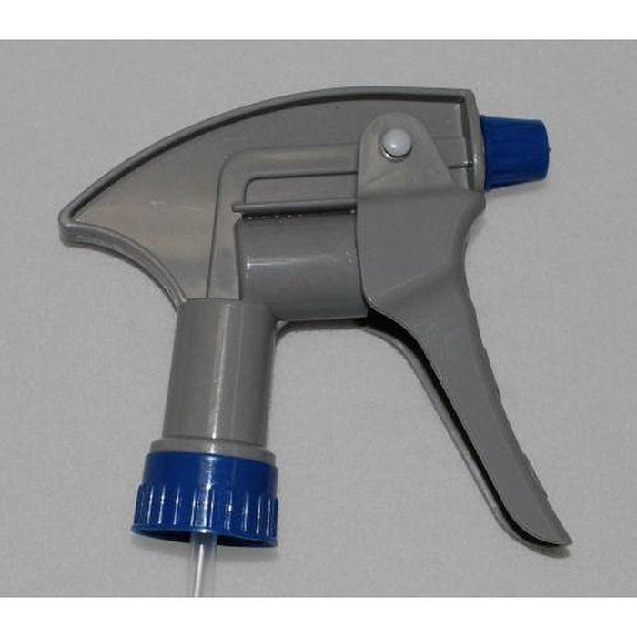 Gray/Blue Jumbo Chemical Resistant Trigger Sprayer-Bottles & Sprayers-Hi Tech Industries-3555CR