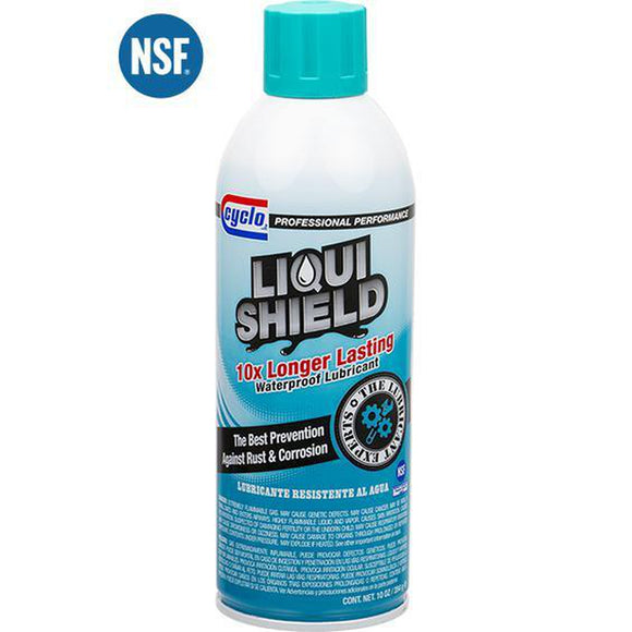 Cyclo Liquishield Waterproof Lubricant C320 - 10 oz Aerosol-Aerosols-Cyclo Industries-C320