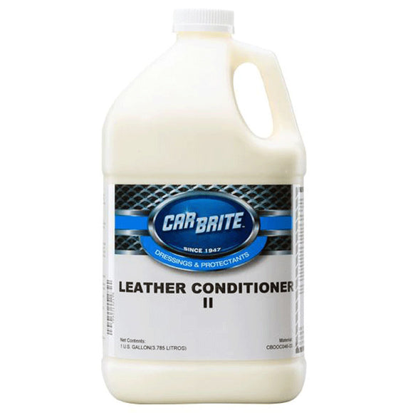 Car Brite Leather Conditioner II, 1 Gallon