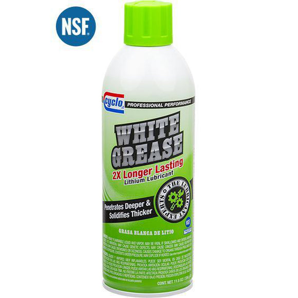 Cyclo White Grease C34 - 11.5 oz Aerosol-Aerosols-Cyclo Industries-C34