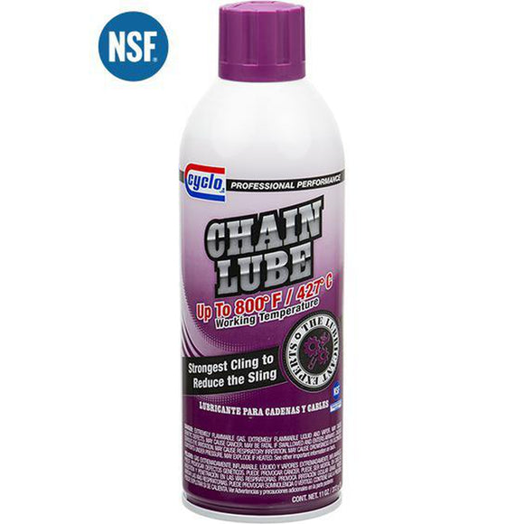 Cyclo Chain Lube C661 - 11 oz Aerosol-Aerosols-Cyclo Industries-C661