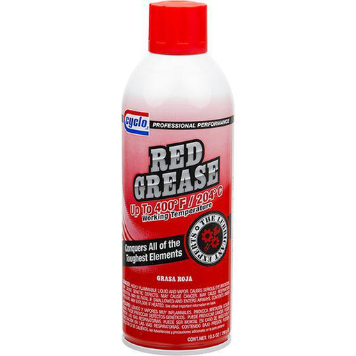 Cyclo Red Grease C123 - 10.5 oz Aerosol-Aerosols-Cyclo Industries-C123