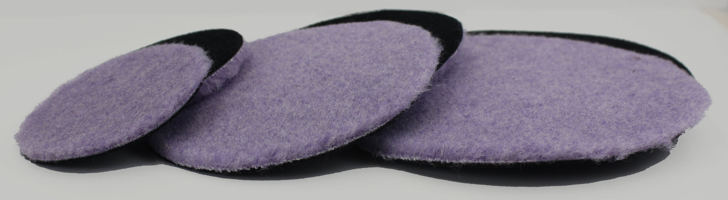 Purple Foamed Wool Pad (Available in 3 Diameters)