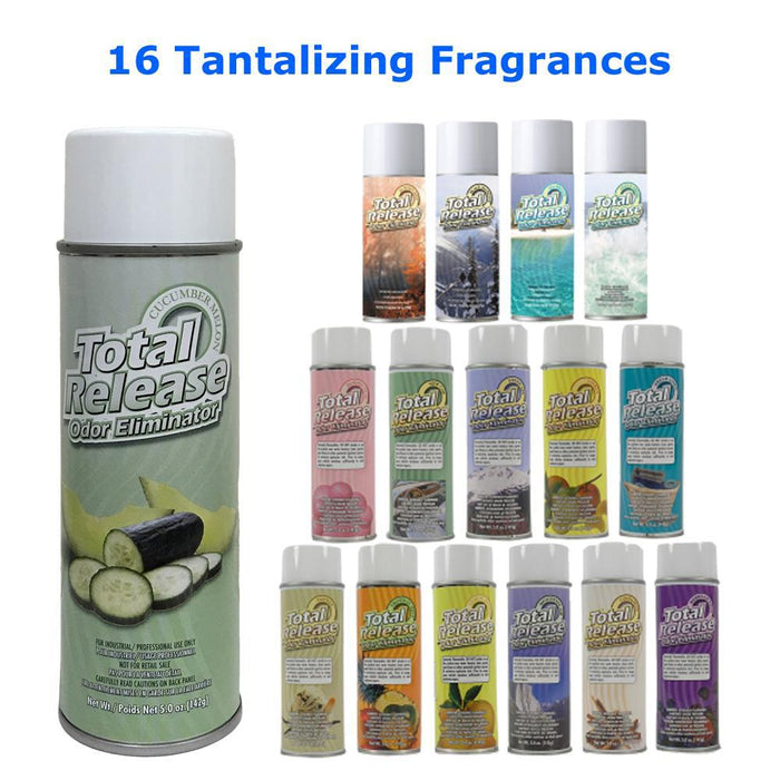 Total Release Odor Eliminator | Choose from 16 Scents-Odor Fogger-Hi Tech Industries-