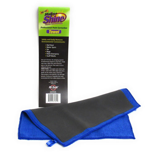 Magna Shine Paint Correction Towel-Surface Prep - Magna Shine Paint Correction & Clay-Hi Tech Industries-Large-MSPC-01