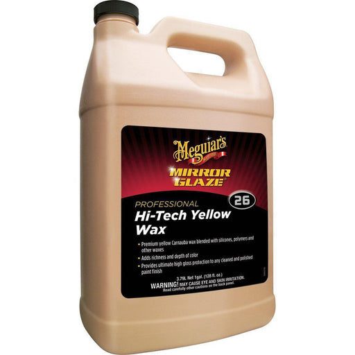 Meguiars M26 Hi-Tech Yellow Wax-Wax, Polish and Compound-Meguiar's-1 gallon-M2601