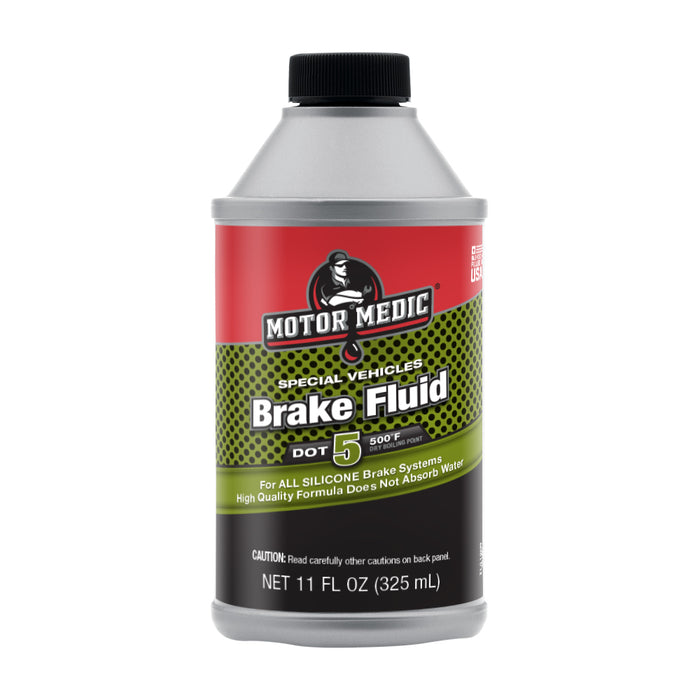 Motor Medic Specialty Silicone Brake Fluid Dot 5 M4011/12