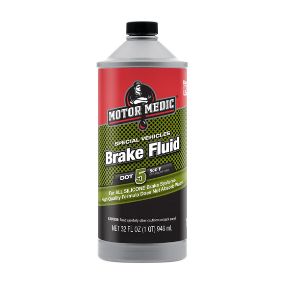 Motor Medic Specialty Silicone Break Fluid DOT 5 M4032/6