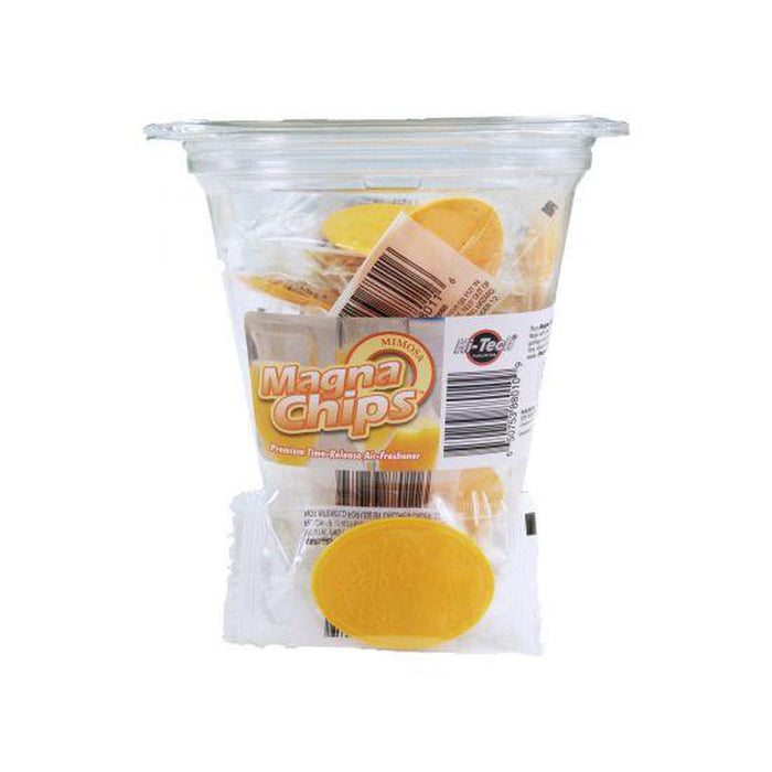 Magna Chips Premium Time Released Air Freshener 50pk - Available in 7 incredible Fragrances!-Magna Chips-Hi Tech Industries-Mimosa-NSC-010
